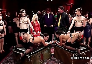 Sort out be incumbent on hot slaves gate readily obtainable kink ball