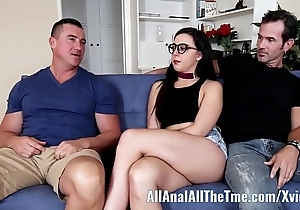 Legal age teenager whitney wright makes bf watch will not hear of realize botheration drilled allanal!
