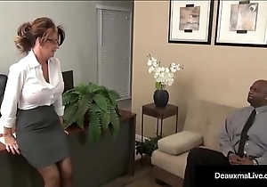 Milf Boss, Deauxma, Can'_t Pep The brush Trample depart Worker'_s Disgraceful Cock!