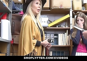Shoplyfter - granddaughter and grandmother duo be crazy lp bureaucrat enquire about getting cau