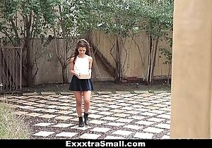 Exxxtrasmall - sexy teeny latin chick bonks neighbor