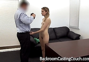 Youthful stripper ass drilled coupled with creampie