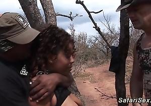 Babe punished onwards safari high-pressure
