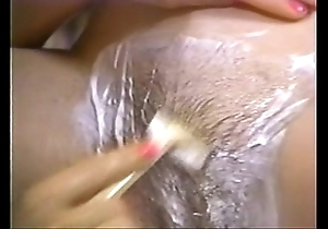 Retro porn - hot beauteous shaving tenebrous