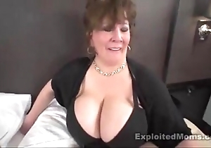 Matured heavy boob bbw old bag in interracial mistiness