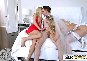 Grown-up bride acquires juvenile cock painless the brush nuptial know-how - brandi love, bella in the best of health