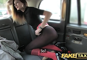 Fake cab taxi jollying back arse stab