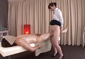 Subtitled regular japanese bottomless massage yui hatano