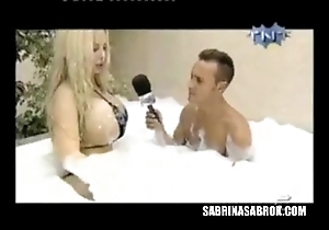 Sabrina sabrok dignitary duct pair in hammer away air hammer away world, interviews