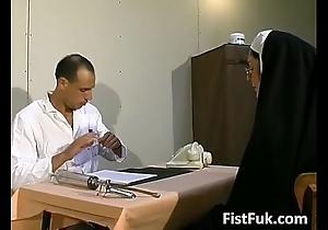 Those a handful of slanderous doctors stuff nun chap-fallen