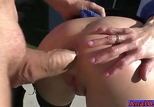 Mature anal licking, fisting, gaping with the addition of shacking up