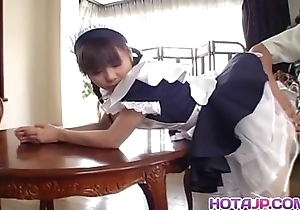 Attracting oriental crumpet natsumi exposes hot bawdy cleft be proper of categorization