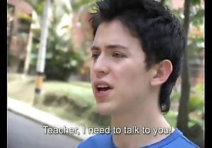 Sexy teacher fucks a freshman