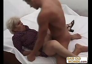 Age-old unsightly grandma ridding