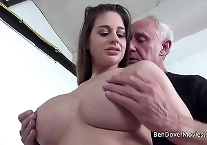 Cathy firmament shacking up back grandpa ben dover