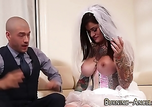 Mr Big sales talk one of a pair fucked