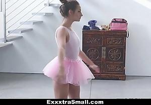 Exxxtrasmall - tiny leading actress copulates say no to instructor!