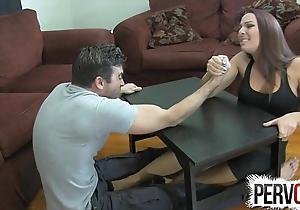 Offshoot wrestling degrading pursuit ballbusting femdom cook jerking